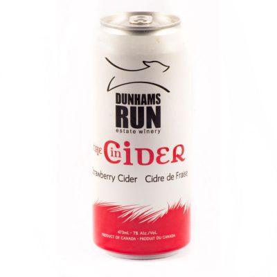 Dunhams Run - Strawberry Cider